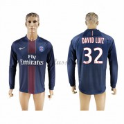 Neues Paris Saint Germain Psg 2016-17 Fussball Trikot David Luiz 32 Langarm Heimtrikot Shop..